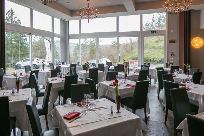 La sala del ristorante Il Tulipano