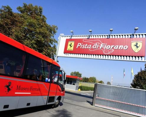 bus navetta museo ferrari 06-10-2011  ph.luca toni/lapresse 2011© Ferrari S.p.A.